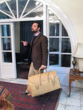 Big Traveller - genuine leather from Afghanistan
