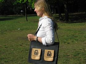 Gundara - Black Kyrgyz - laptop bag - Park