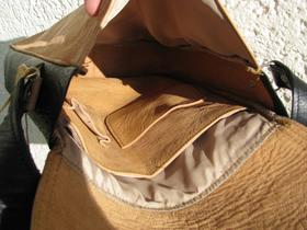 Gundara - Bubble Boom - inside - pure leather - made in Afghanistan