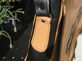 Gundara - Chess - side strap attachment - genuine leather - from Afghanistan