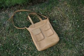 Gundara - Happy Laura - organic leather handbag - genuine leather
