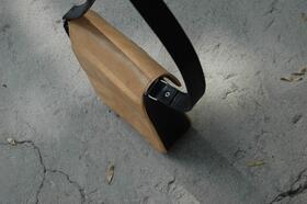 Gundara - Kyrgyz Small - small shoulder bag - back - pure leather