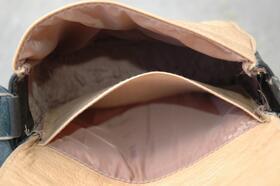 Gundara - Kyrgyz Small - small shoulder bag - inside - from Afghanistan
