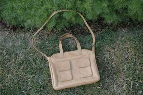 real leather handbag - Summer Fritz by Gundara