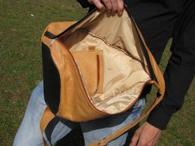 Gundara - Tripack - sporty leather backpack - real leather