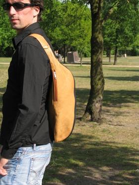 Gundara - Tripack - sporty leather backpack - handmade in Afghanistan