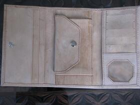 Gundara - Ute's Wallet - leather wallet for ladies - Open