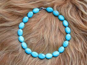 collier turquoise tadjikistan asie centrale bijouterie gundara