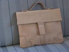 Gundara - genuine leather - handbag - funky - fair trade - 70s - from Afghanistan - vintage