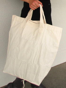 a huge vegan shopping bag - Gundara