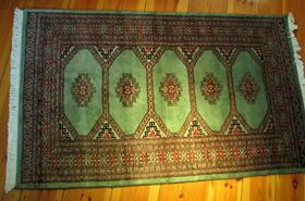 Jaldar-Teppich - handgeknüpft - 100% Wolle - handgemacht in Pakistan