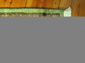 Jaldar-Teppich - mint-farben - handgeknüpft - handgemacht in Pakistan