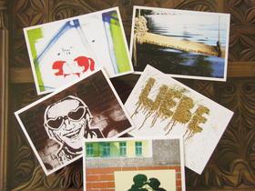 Annblick - postcards - Berlin street art and graffiti