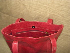 inside pocket - Missy Simple Africa - made in Burkina Faso - fair trade