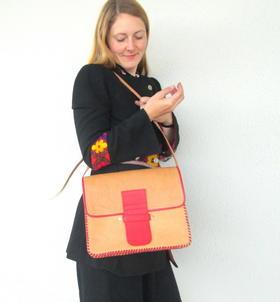 sac vintage fait en Afghanistan