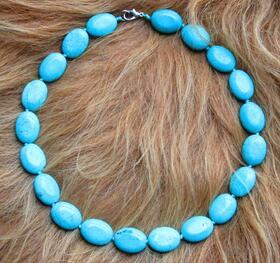 Halskette - echte Türkise - Tadschikistan - Zentralasien - Seidenstrasse