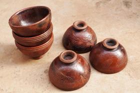 Gundara - Tonschalen - handgemacht in Burkina Faso - fairer Handel - Töpferin