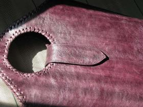 Leather Shopper Violetta - Gundara