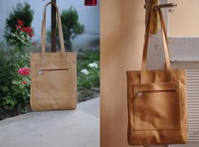 Shopping bag Sofia - simple and elegant - photo credit Casey Johnson