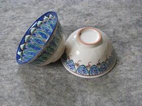 Gundara - Piola - sehr schöne hangemachte Teeschalen - Piola