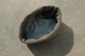 Gundara - Neo-Pakol - chapeau en laine - Par Zardozi - doublure intérieure