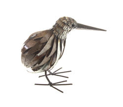 handmade metal kiwi - shona art