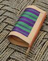 Gundara - Karina - Schlamper/ Stiftetasche aus Stoff und Leder - aus Afghanistan