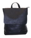 Gundara - fair laptop backpack - handmade - genuine black cow leather