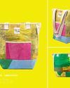 Up-fuse - Upcycling-Schultertasche - fairer bunter Tote - Sozialunternehmen in Ägypten - Gundara
