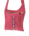 Marjo - Small cross body bag - Jackal and Hide - Red