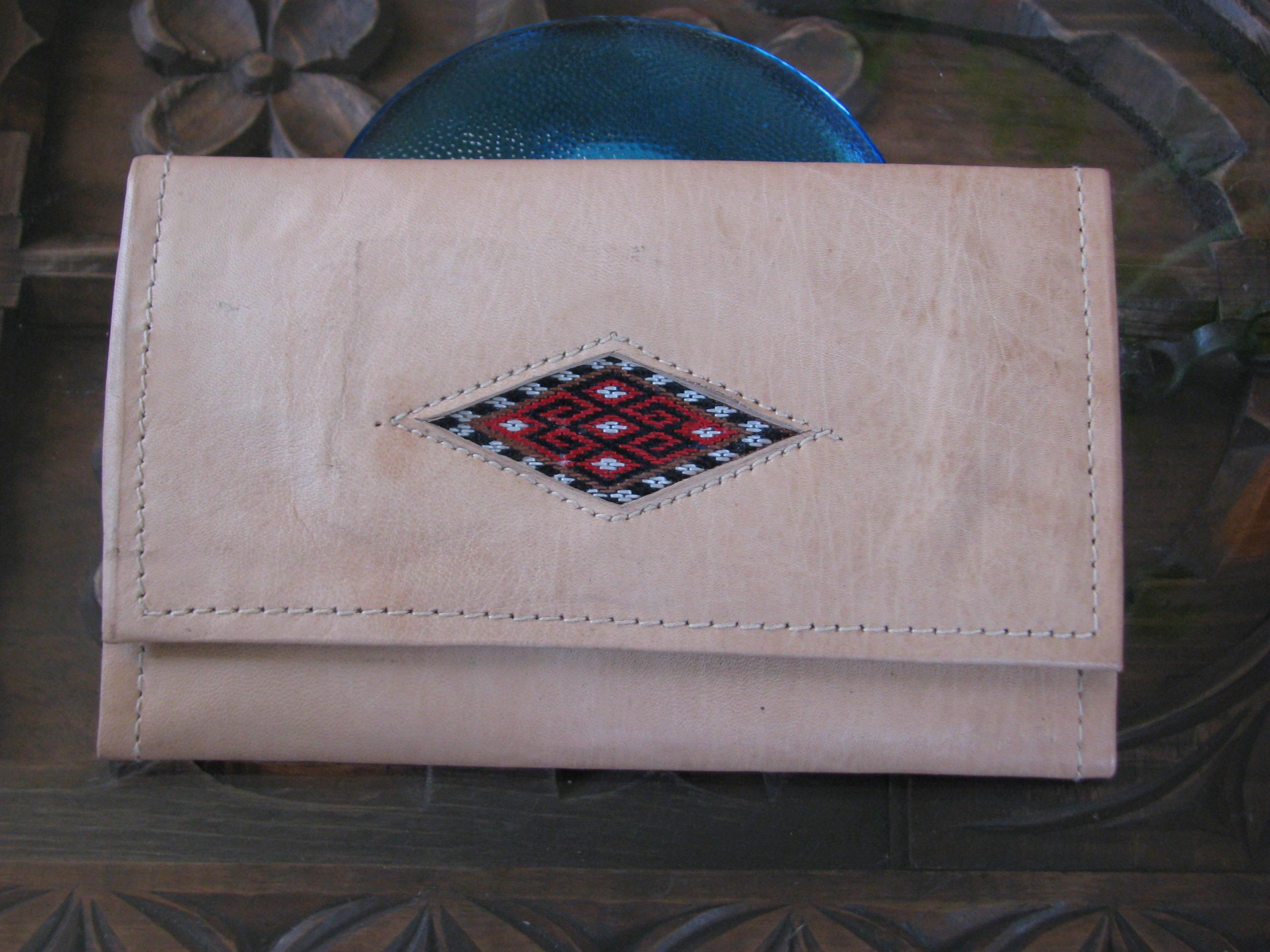 Leder-Portemonnaie für Damen  - Gundara