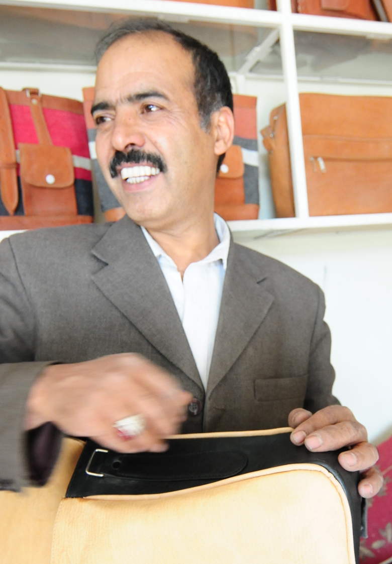 Meister Yaqub - Ledertaschenproduzent aus Kabul